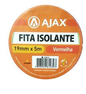 Fita Isolante Verm 19 Mm X 5 M - Ajax