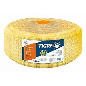 Eletroduto Corrugado Amarelo 25Mm Peca Com 50Mt - Tigre