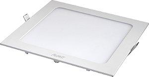 Painel Led Embutir Quadrado Branco 6500K 24W 30X30 Bivolt - Avant