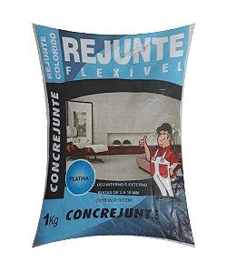Rejunte Flex 1Kg Platina - Concrejunte