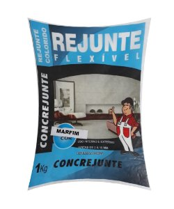 Rejunte Flex 1Kg Marfim - Concrejunte