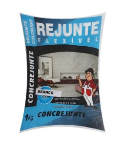 Rejunte Flex 1Kg Branco - Concrejunte