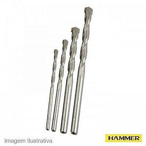 Jogo De Brocas Para Concreto 4 Pecas - Hammer