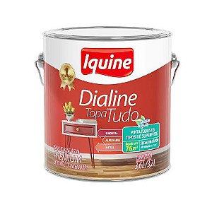 Esmalte Dialine Topa Tudo Base Agua 3,6L - Iquine