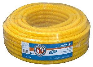 Eletroduto Corrugado Amarelo 32Mm Peca 25Mt - Tigre