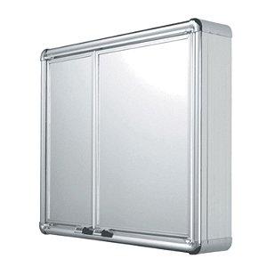 Armario Plastico Com Perfil De Aluminio 54X45X11,3 - Astra