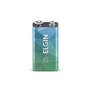 Bateria Alcalina 9V Blister 1 Peca - Elgin