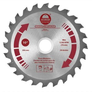 Serra Circular Widea 9.1/4X36Dts F25Mm - Worker