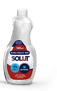 Alcool Liquido Etílico 70% 500ml - Solut