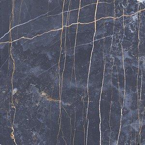 Piso Porcelanato Nero Portoro Polido 58X58 Cx C/2,03Mt - Tecnogres