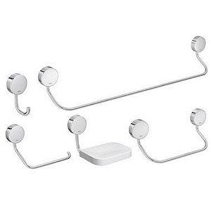 Kit de Acessorios Net para Banheiro 5 Peças - Deca