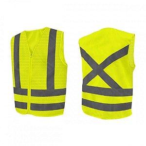 Colete Fluorescente Tipo Blusao Amarelo - Worker