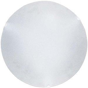 Plafon Jurere 25 Cm Vidro Fosco E-27 Branca - Taschibra