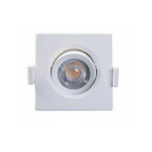 Spot Embutir Quadrado Alltop Led MR11 3W 3000K - Taschibra