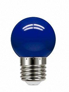 Lâmpada Led Bolinha Tbl 05 Azul 1W 127V - Taschibra