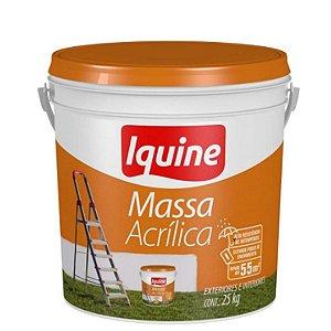 Massa Acrilica Balde 25 Kg - Iquine