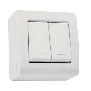 Interruptor Sobrepor 2S Simples 10A - Tramontina
