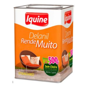 Tinta Delanil Acrilico Fosco 18 L - Iquine