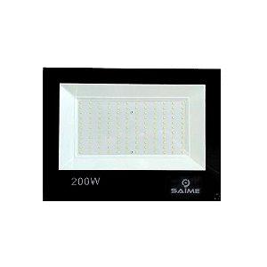 Refletor Led Smd Slim 200W 6000K Preto - Saime