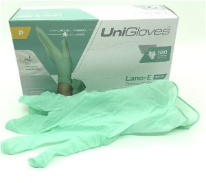 Luva P/ Procedimento Latex S/P LANO-E UNIGLOVE