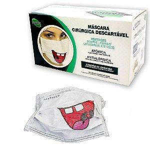 Mascara C/ Elástico Sorriso CX 50 uni