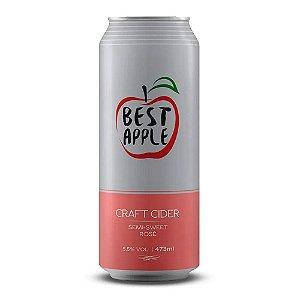 Sidra Antuerpia Best Apple Semi Sweet Rose Lata 473ml