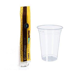 Copo Plástico 300ml Transparente PP CX 500 UN Copobras