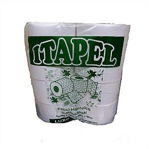 Papel higiênico folha simples rolão Luxo 1 fd 8X300 Itapel
