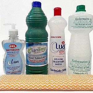 Kit Bactericida Para higienização e esterilização