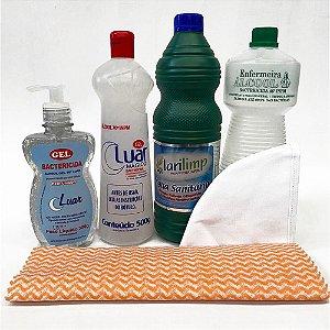 Kit Bactericida Completo Para higienização e esterilização