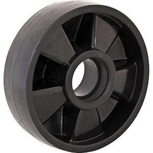 Roda Direcional Nylon Preto Vonder 2ton