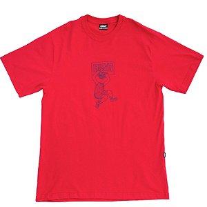 Camiseta HIGH Company Dunk magenta