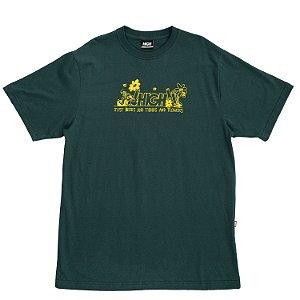 Camiseta HIGH Company Garden verde