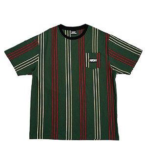 Camiseta HIGH Company Pocket vertical Kidz verde