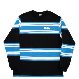 Camiseta manga longa HIGH Company Kidz OG preto/azul