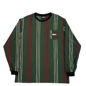 Camiseta manga longa HIGH Company Kidz vertical verde