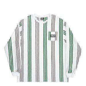 Camiseta manga longa HIGH Company Kidz vertical branco