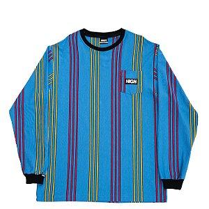 Camiseta manga longa HIGH Company Kidz vertical azul