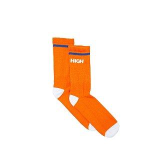 Meia HIGH Company laranja