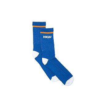 Meia HIGH Company azul