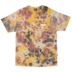 Camiseta HIGH Company Tie Dye Amarelo