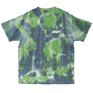 Camiseta HIGH Company Tie Dye Verde