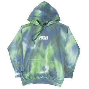 Moletom HIGH Company Blot Tie Dye Verde