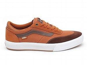 Tenis VANS Pro Gilbert Crockett marrom/laranja