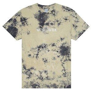 Camiseta HUF Archive Crystal Wash cinza