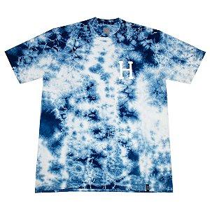 Camiseta HUF Classic H TieDye Azul