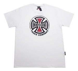 Camiseta Independent Truck Co 3 Colors branco