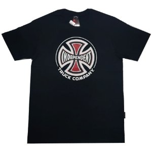 Camiseta Independent Truck Co 3 Colors preto