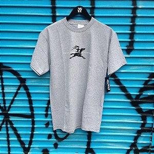 Camiseta Lakai Gallop cinza mescla
