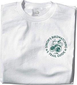Camiseta Lakai Simons Birdwatch branco